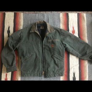 Carharrt blanket lined Detroit jacket
